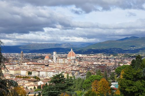 Florence in fall