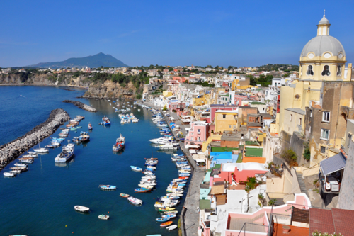 Procida, one of the best islands near Rome