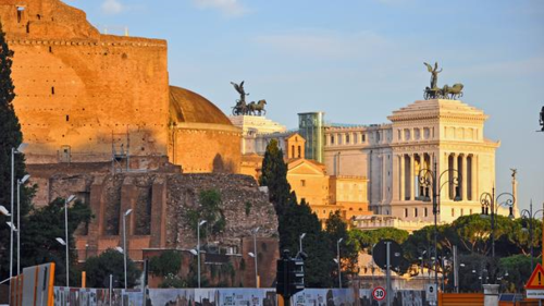 Behind the lens in Rome