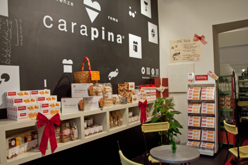Carapina gelateria in Rome, home to the best gelato in Rome's center