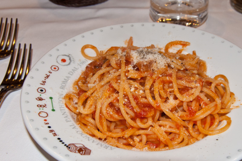 Armando al Pantheon, a great trattoria in Rome